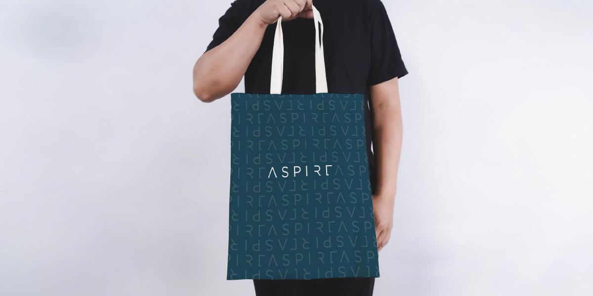 proposed tote bag design featuring reverse design