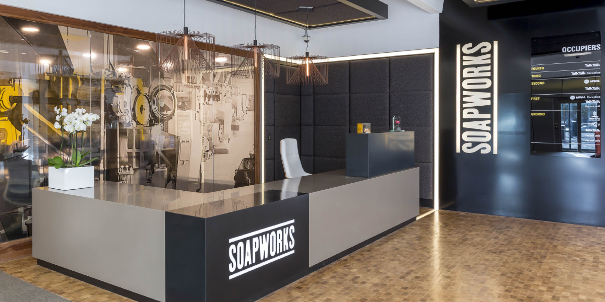 soapworks reception